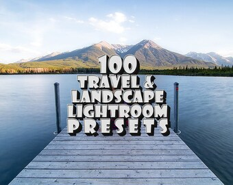 Travel & Landscape Lightroom Preset