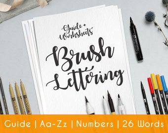 Calligraphy Worksheet Practice Sheets Guide Beginner