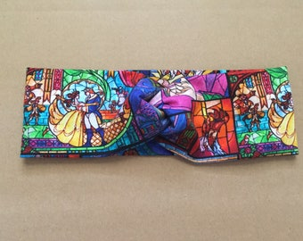 Disney beauty and the beast headband , turban headband , crossfit , run Disney , yoga headband , earwarmer,