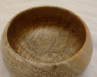 Spalted and Quilted Maple Bowl #172