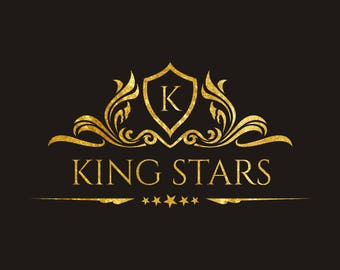 Logo, Logo Design, Custom Logo Design, Gold Logo, Royal Logo, Luxury Logo Design, Business Logo Design, Business Branding, Professional Logo