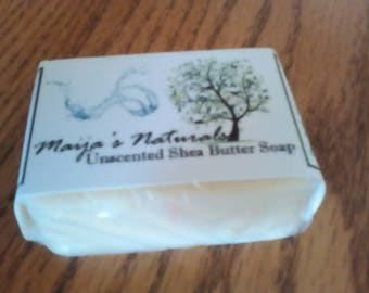 Unscented Shea Butter Bar Soap