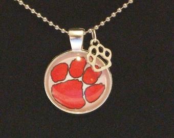 Clemson Tiger pendant