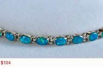 Oval Gilson Opal Bracelet