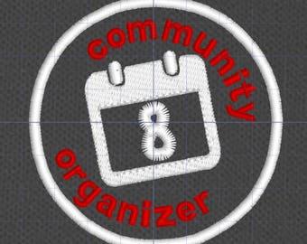 Resistance Scouts Community Organizer merit badge patch resist politics antifa feminist leftist