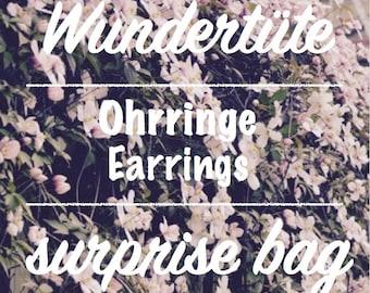 Piñata/surprise bag EARRINGS--.