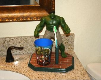 Incredible Hulk Toothbrush Holder (#171)