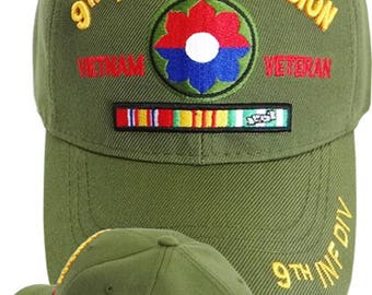 9th Infantry Division Vietnam Cap