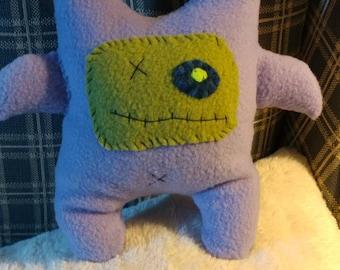 Purple Monster Critter