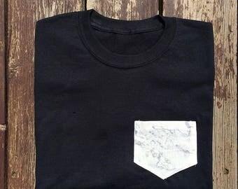Marble pocket shirt
