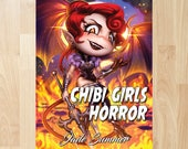 Chibi Girls Horror by Jade Summer (Coloring Books, Coloring Pages, Adult Coloring Books, Adult Coloring Pages, Coloring Books for Adults)