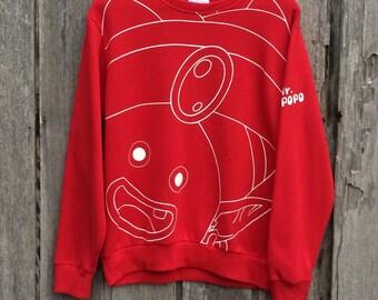 Vintage mr popo dragon ball z sweatshirt