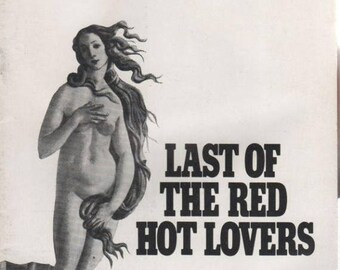 Summer Sale Eugene O'Neil Theatre Playbill The Last of the Red Hot Lovers December 1970
