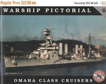 Warship Pictorial #6 Omaha Class Cruisers 1999 Book