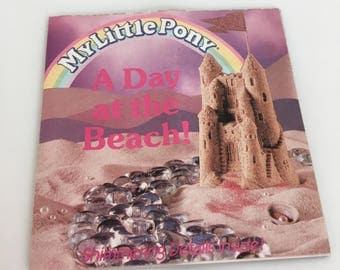 """Vintage My Little Pony MLP G1 order form Mail Order ponies """"A Day at the Beach"""""""