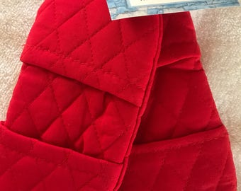 Quilted Microwave Mitts. Set of 2.