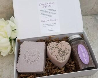 Spa Bath Gift Set / All Natural Bath and Body / Gift for Her / Gift for Her / Gift under 25 / Gift for Mom / Vegan Gift / Spa Set / Handmade
