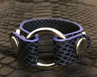 Leather Bracelet for Women by Felix Rodionov handmade