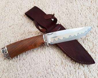 Hunting knife / Hunter / Hunting / Hand made Knife / Hunting Knife  / Survival knife / Bushcraft knife /