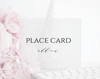 Custom Place Cards to Match