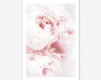 Peony Print, Peony Wall Art, Nature Prints, Botanical Poster, Nursery Decor, Floral Print, Botanical Poster, Nursery Wall Art, Scandi Print