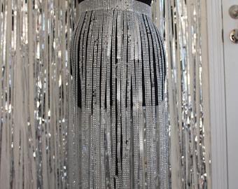 Sample ***** Saggitarius skirt - Silver
