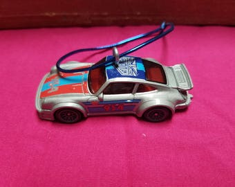 Hotwheels Porsche 934 Turbo RSR. Ornament / Fan pull  Ornament loop included.