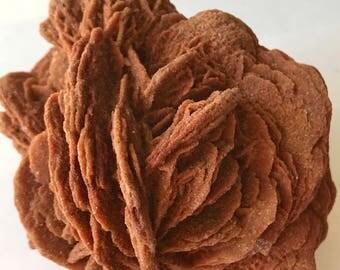 Selenite, Desert ROSE PETALS! Sand Rose, Morocco Rocks, Minerals and Crystals / 140g