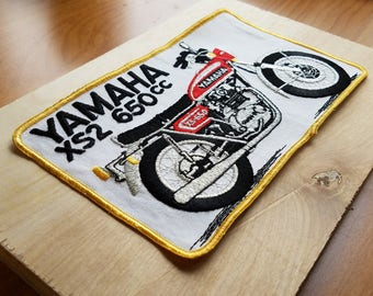 Yamaha XS2 650cc 1970s Vintage Motorcycle Patch