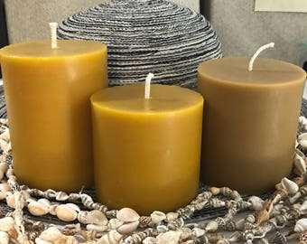 Candle Store ~ Scented Candles ~ Beeswax Pillar Candles ~ Aromatherapy ~ Beeswax Candles ~ Homemade Candles ~ Candle Shop ~ Organic ~13.5 oz