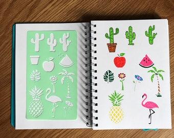 Fruit and Fun Stencil