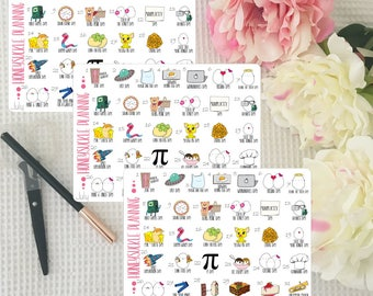 July Crazy Holidays Icon Stickers