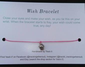 Birthday cake wish Bracelet. Birthday gift. Celebrate. Wedding. Yummy.