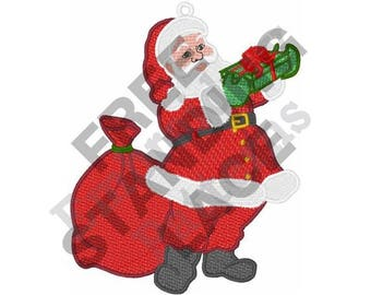 Santa - Machine Embroidery Design