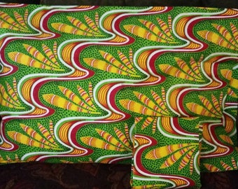 African Print Pillow Cases (Set of 2)