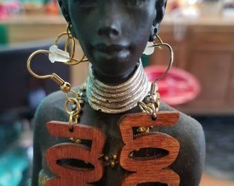 LOC earrings