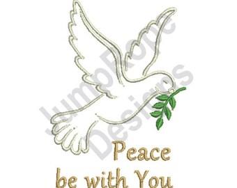 Peace Dove - Machine Embroidery Design
