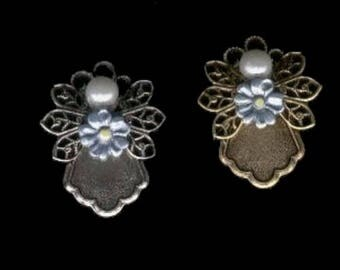 Alzheimer Awareness Guardian Angel Pin, Alzheimer Awareness, Dementia Awareness, Memorial Jewelry, Remembrance Gift, Gift for Her