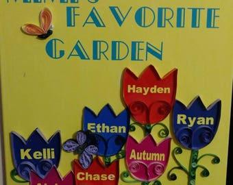 Grandma's Favorite Garden Canvas Art