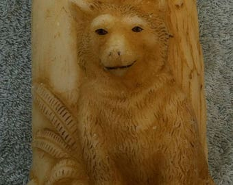 American Candle 'Wolf' candle