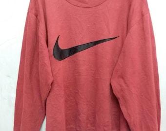 Vintage Nike big logo sweatshirt L