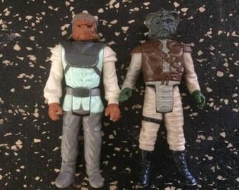 Star Wars - Nikto and Klaatu Figures by Kenner