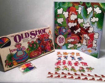 The Old Shoe Game 1981 Cacaco Complete in Great Condition FREE SHIPPING