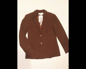 "AFROVENATOR modern ""Jones New York"" designer blazer formal suit jacket never worn brand new.  Size med"