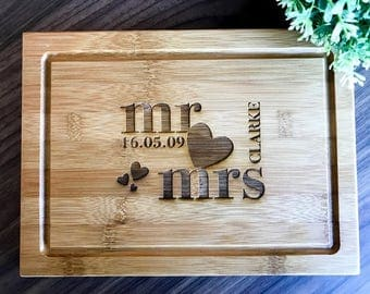 Personalize Chopping Board, Custom Presentation Serving Board | Chopping Board | Cheese Board -Wedding, Anniversary, Engagement Gift