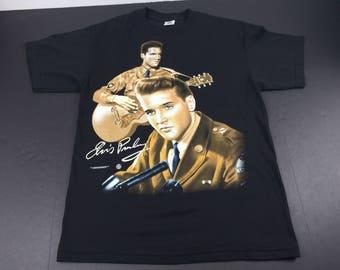 Vintage 1996 Elvis Presley t-shirt mens L
