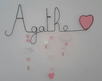 Name personalized photo - heart