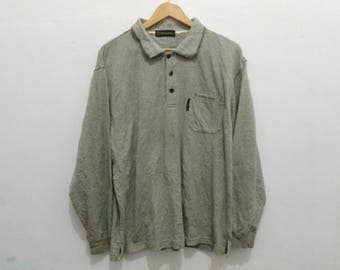 Gianni Valentino shirt vintage large green Gianni Valentino Italy