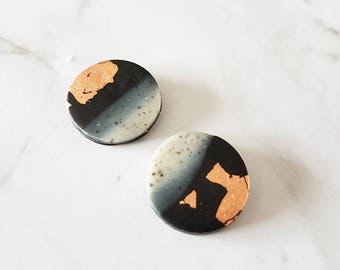 Earthy Surprise Studs