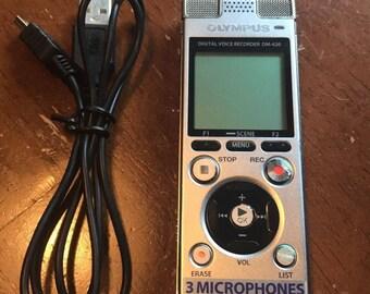 Olympus DM-620 Voice Recorder Dictaphone Recording Device